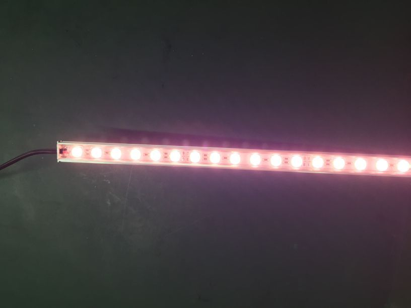24V SMD 5050 pink rigid led strip