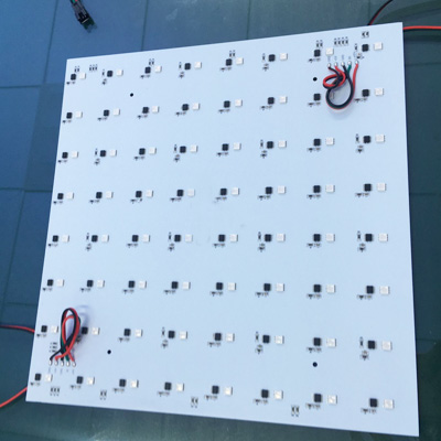 addresable square led panel