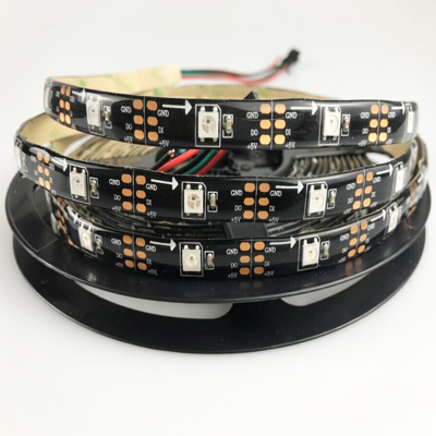 Black SK6812 LED Strip